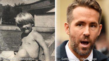 Ryan Reynolds odkrył straszny szczegół na swoim zdjęciu z dzieciństwa! Jak mogli coś takiego zamieścić w gazecie?