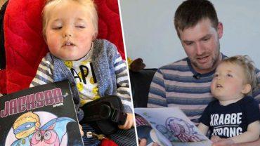 Tata umierającego chłopca stworzył książkę o jego przygodach. Jako superbohater mały Jackson może żyć wiecznie