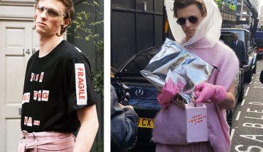 Ubrał się jak idiota podczas Londyńskiego Tygodnia Mody. Fotoreporterzy bez opamiętania robili mu zdjęcia, myśląc, że to model!