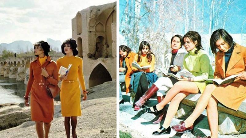 Piękne, eleganckie i pewne siebie – takie były irańskie kobiety, zanim uwięziono je w burkach