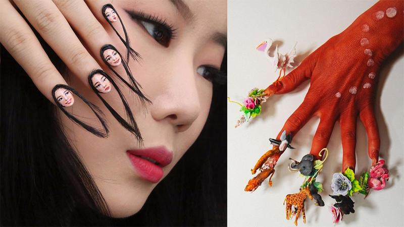 Te paznokcie stworzył ktoś o chorej wyobraźni. Zwłaszcza te spod numerka 6!