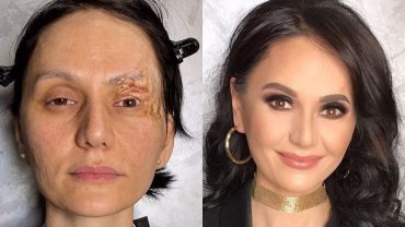 Perfekcyjny makijaż zmieni każdego kopciuszka w księżniczkę. Czapki z głów przed artystką, która dokonała TYCH metamorfoz