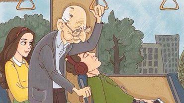Czy ustępować starszym osobom miejsca w autobusie? Psycholodzy twierdzą, że absolutnie nie!