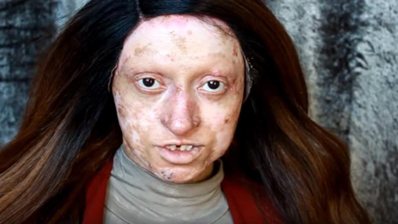 Za pomocą makijażu zmienili ją w przepiękną kobietę. Myślisz, że to niemożliwe? A jednak!