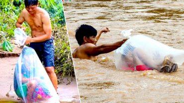 Zamykają dzieci w plastikowych workach i wrzucają do rwącej rzeki. Przeczytaj, zanim uznasz ich za potwory