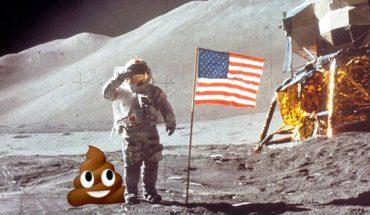 """96 worków ludzkich odchodów poniewiera się na Księżycu! O tym """"sukcesie"""" nie powiedzą Ci w mediach"""