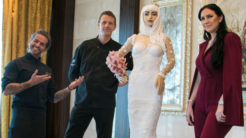 Słodka panna młoda. W Dubaju powstało ciasto o wartości 1 mln dolarów!