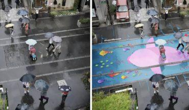Co zrobić, żeby szare, deszczowe miasto znowu nabrało barw? Oni znaleźli na to GENIALNY sposób!