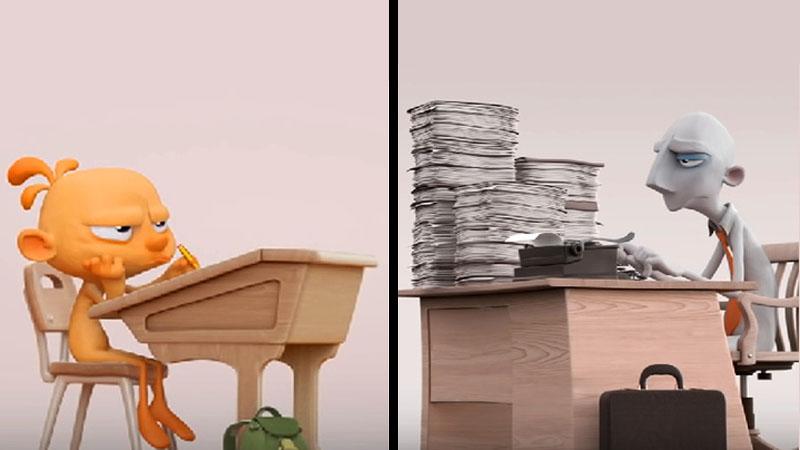 Krótki film pokazuje, jak społeczeństwo niszczy naszą kreatywność. Jego przesłanie otwiera oczy