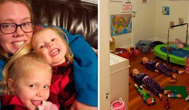 Genialna mama znalazła sposób na uspokojenie szalejących dzieci! Wypróbuj go i Ty