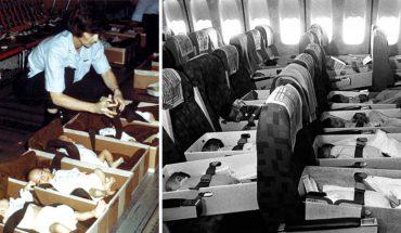 Samoloty pełne malutkich dzieci! Amerykanie wywieźli z Wietnamu tysiące bezbronnych maluchów
