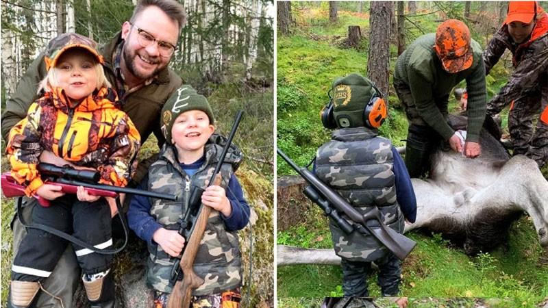 """Tata myśliwy uczy polować trójkę swoich dzieci. """"Dzięki temu uszanują naturę"""""""
